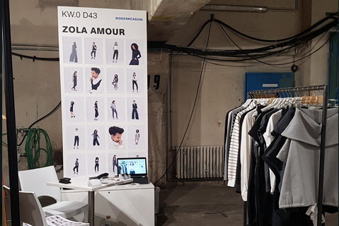 Our debut at the Ethical Fashion Show, Berlin (NEONYT)