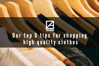 Our top 5 tips for shopping high quality clothes on the highstreet.