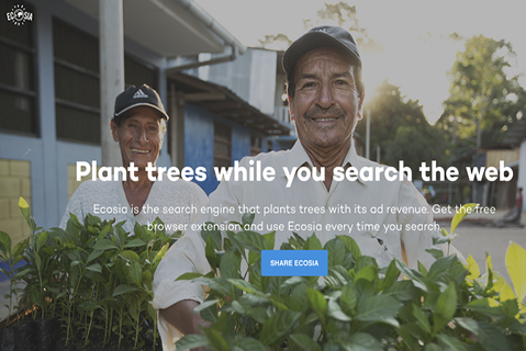 How to plant trees while you search the web...