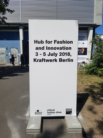 The Ethical Fashion Show, Berlin sign