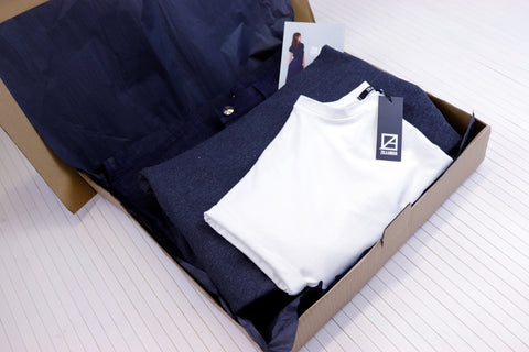 Affordable ethical fashion brand recycled packaging