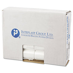 Commercial Can Liners, Perforated Roll, 10gal, 24 x 24, Natural, 1000/Carton