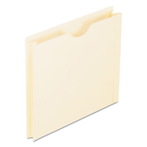 Reinforced Top File Jacket, 2 Inch Expansion, Letter, Manila, 50/Box