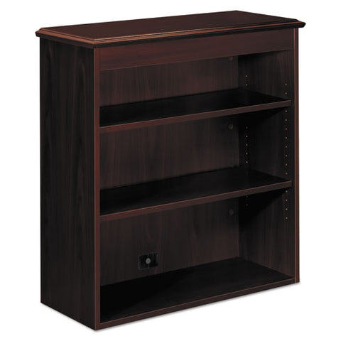 94000 Series Bookcase Hutch, 35-3/4w x 14-5/16d x 37h, Mahogany