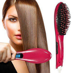 HAIR STRAIGHTENER BRUSH - CoolStorySis