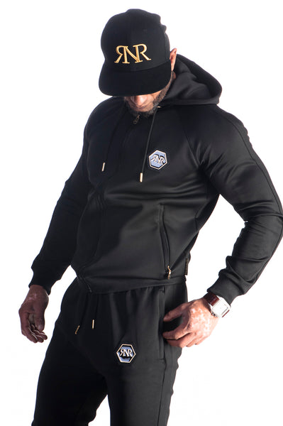 Fitted Tech Hooded Top By Яich N Rude™