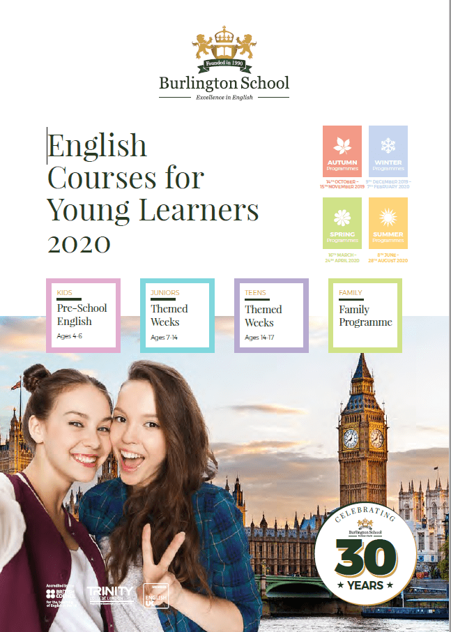 STUDY ENGLISH IN LONDON AT THE BURLINGTON SCHOOL OF ENGLISH