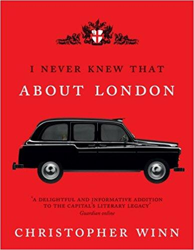 BOOK HARDCOVER-I NEVER KNEW THAT ABOUT LONDON! - London Art and Souvenirs