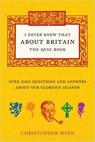 BOOK HARDCOVER-I Never Knew That About Britain: The Quiz Book - London Art and Souvenirs