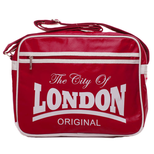 Original Robin Ruth Brand Retro Syle Bag City of  London Large Red White