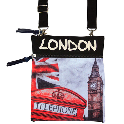 Original Robin Ruth Brand Photo Neck Pouch Iconic London