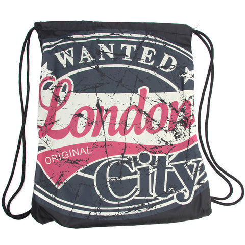 Original Robin Ruth brand Backpack L for London Stamp Grey Green