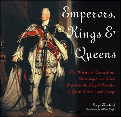 BOOK HARDCOVER -EMPERORS KINGS & QUEENS - London Art and Souvenirs