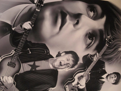 PAUL McCARTNEY  LIMITED EDITION PRINT unframed