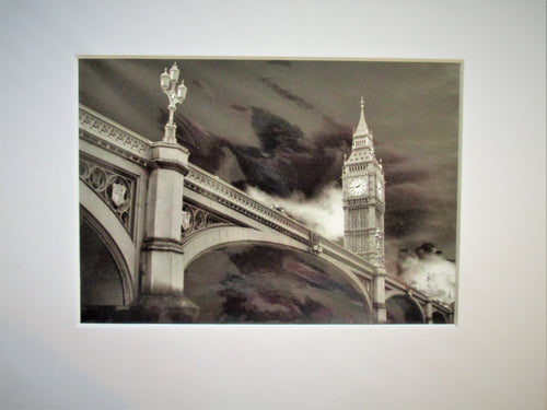 SET OF 6 ARTISTIC PHOTOS OF LONDON