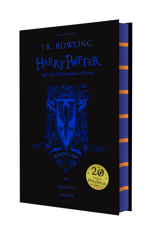 BOOK HARDCOVER Harry Potter and the Philosopher's Stone – Ravenclaw Edition - London Art and Souvenirs