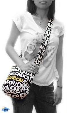 Beautiful Original Robin Ruth brand Large Butterfly London Tote Bag  Black White multicolured