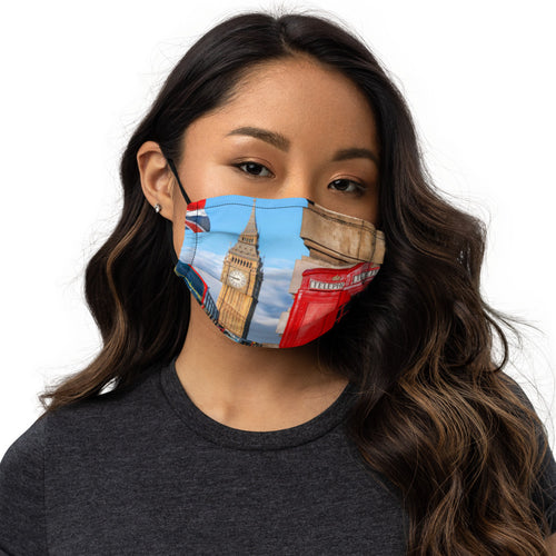 LONDON ART Premium face mask