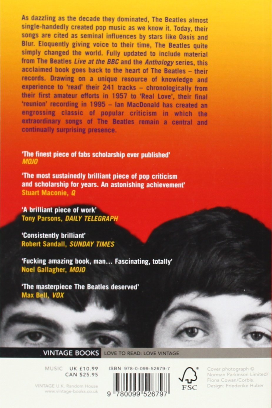 Book soft cover Revolution in the Head: The Beatles' Records and the Sixties - London Art and Souvenirs
