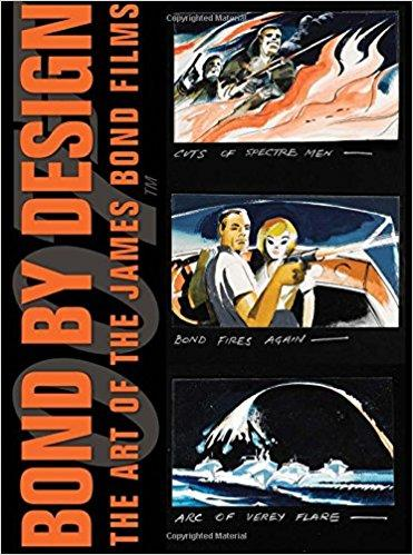 HARDCOVER BOOK WITH SLIPCASE -BOND  BY DESIGN- THE ART OF JAMES BOND