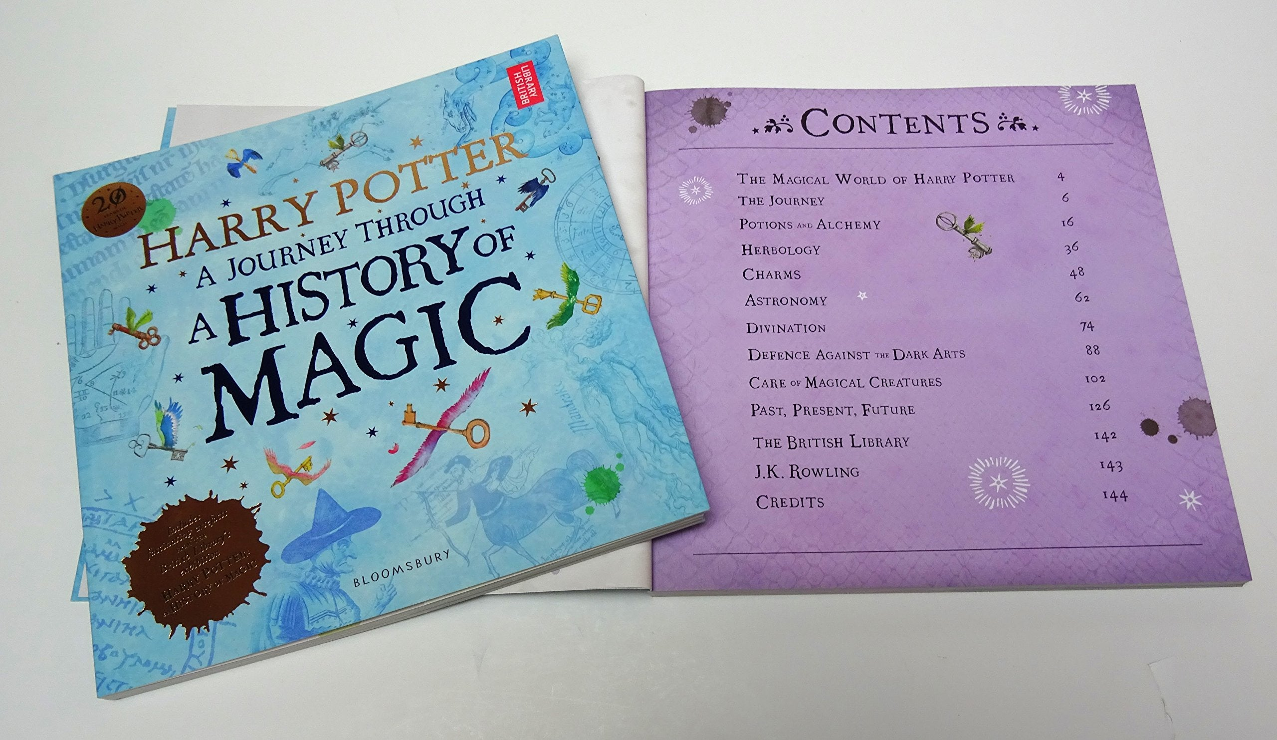 NEW BOOK Harry Potter: A Journey Through A History of Magic