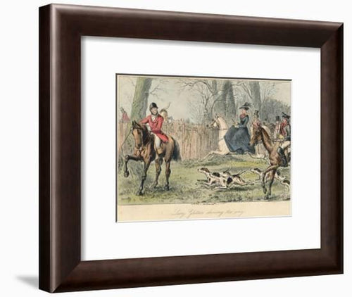 10 SET  ANTIQUE BRITISH HUNTING PRINTS - London Art and Souvenirs