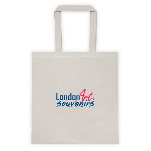 LONDON ART AND SOUVENIRS TOTE BAG