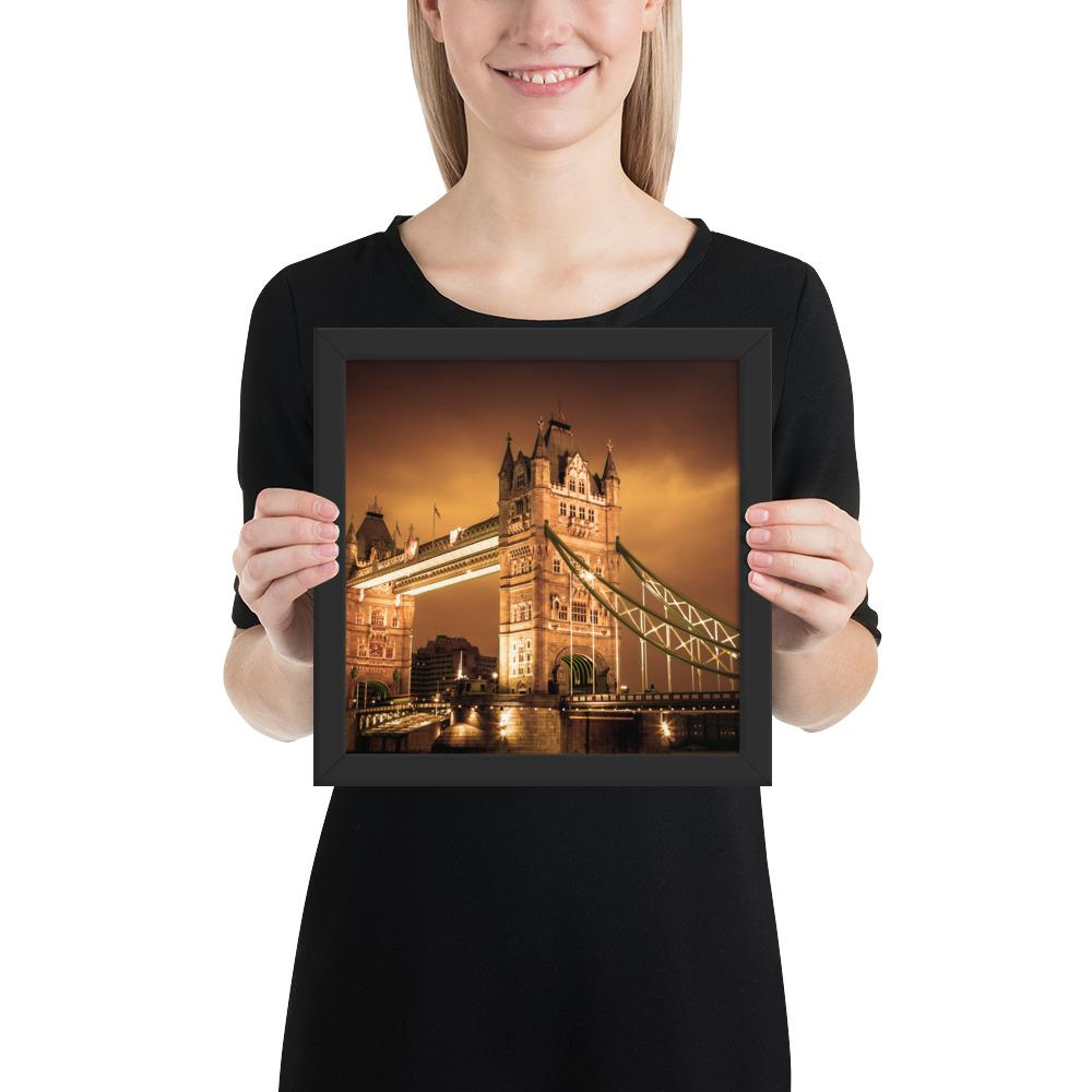 BEAUTIFUL PHOTO PRINT OF TOWER BRIDGE LONDON