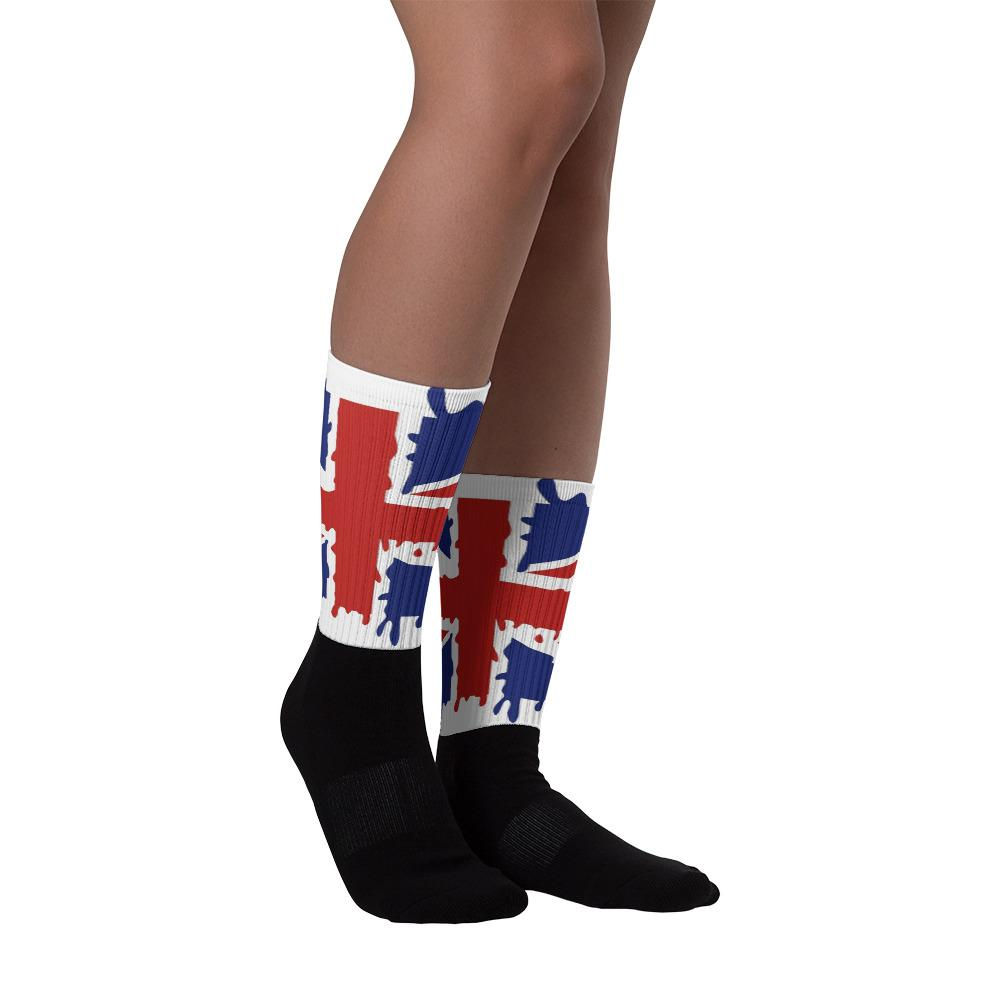 VINTAGE UNION JACK SOCKS UNISEX - London Art and Souvenirs