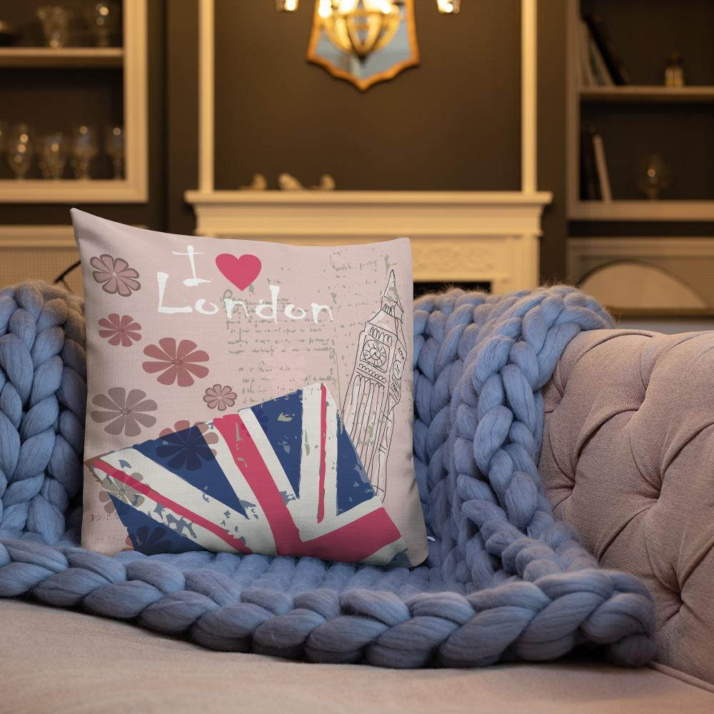 I LOVE LONDON PREMIUM QUALITY CUSHION