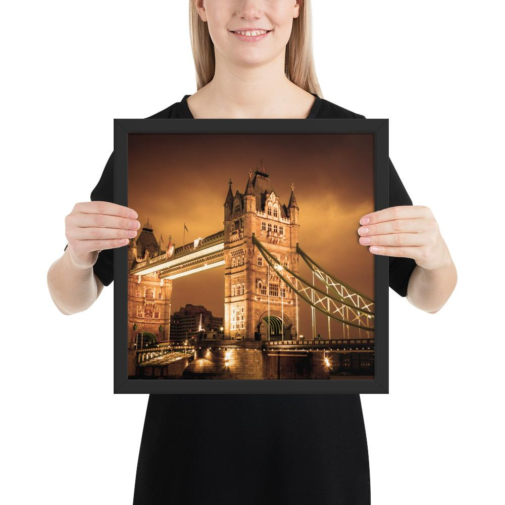 BEAUTIFUL PHOTO PRINT OF TOWER BRIDGE LONDON - London Art and Souvenirs