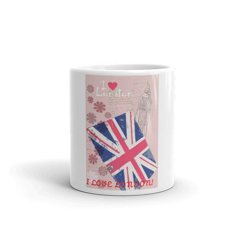 LOVE LONDON UNION JACK PREMIUM PILLOW