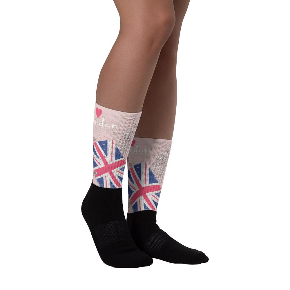 I LOVE LONDON SOCKS - London Art and Souvenirs