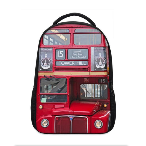 New Creative Designer 3D LONDON ROUTEMASTER BUS BACKPACK - London Art and Souvenirs