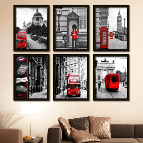 Looking Cool in London Photo Print FRAMED