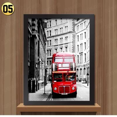 London iconic Landscape Prints on  Canvas UNFRAMED