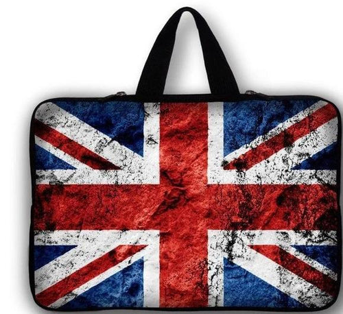 UNION JACK FLAG  LAPTOP  CASE for 16/17/17.3/17.4 inch MODELS - London Art and Souvenirs