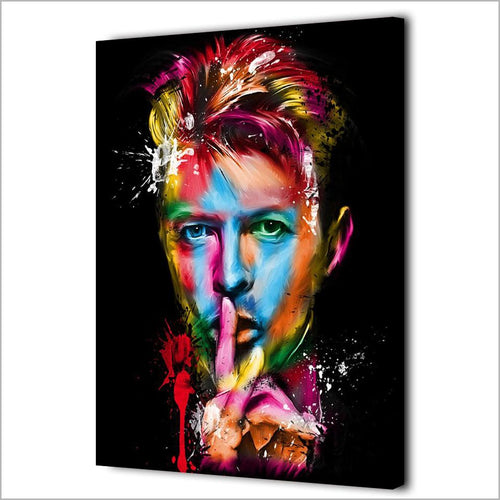 MAGNIFICENT HD Canva Prints on David Bowie British Singer Songwriter FRAMED OR UNFRAMED