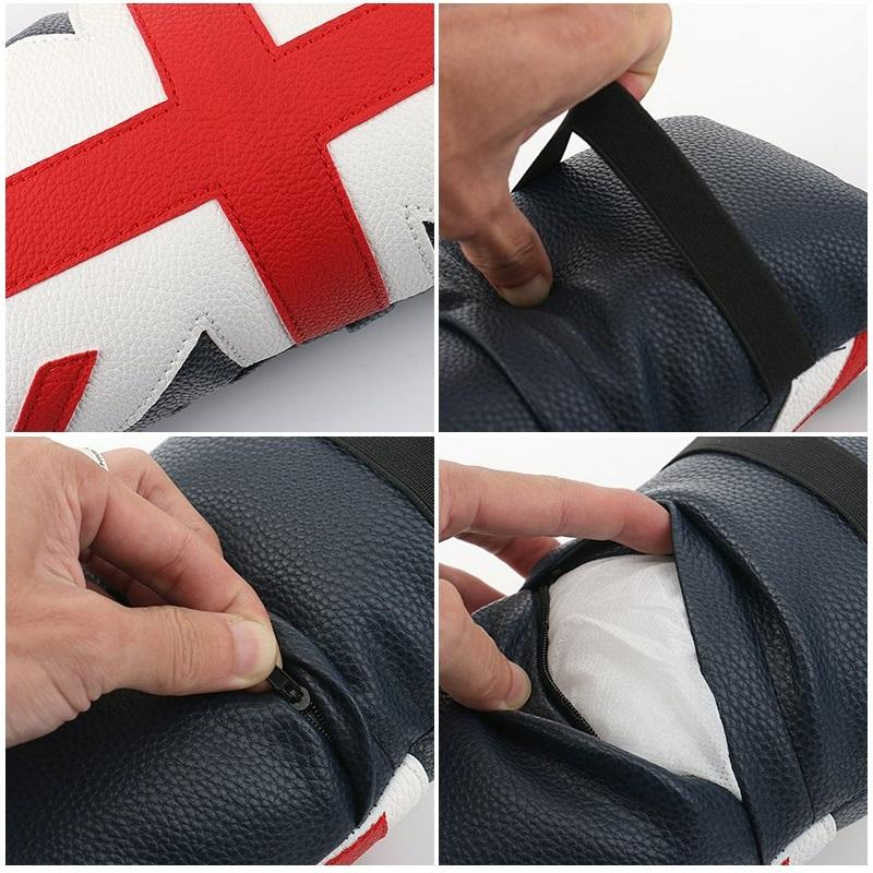 Union Jack  Car Soft Armrest Bag Pad - London Art and Souvenirs