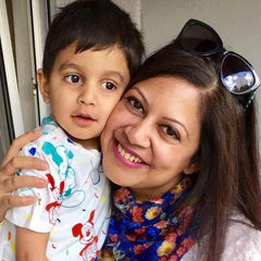 Saloni and her son