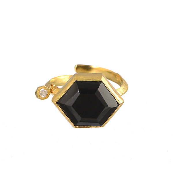 Hexa ring with Diamond