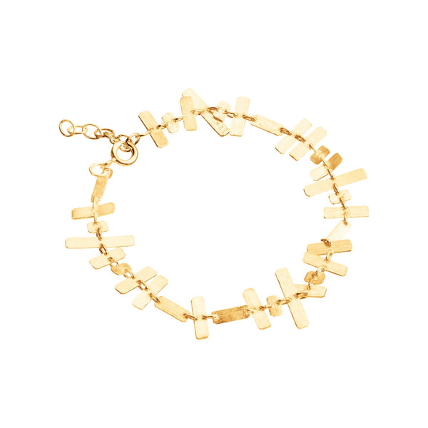 Rectangular brick Bracelet