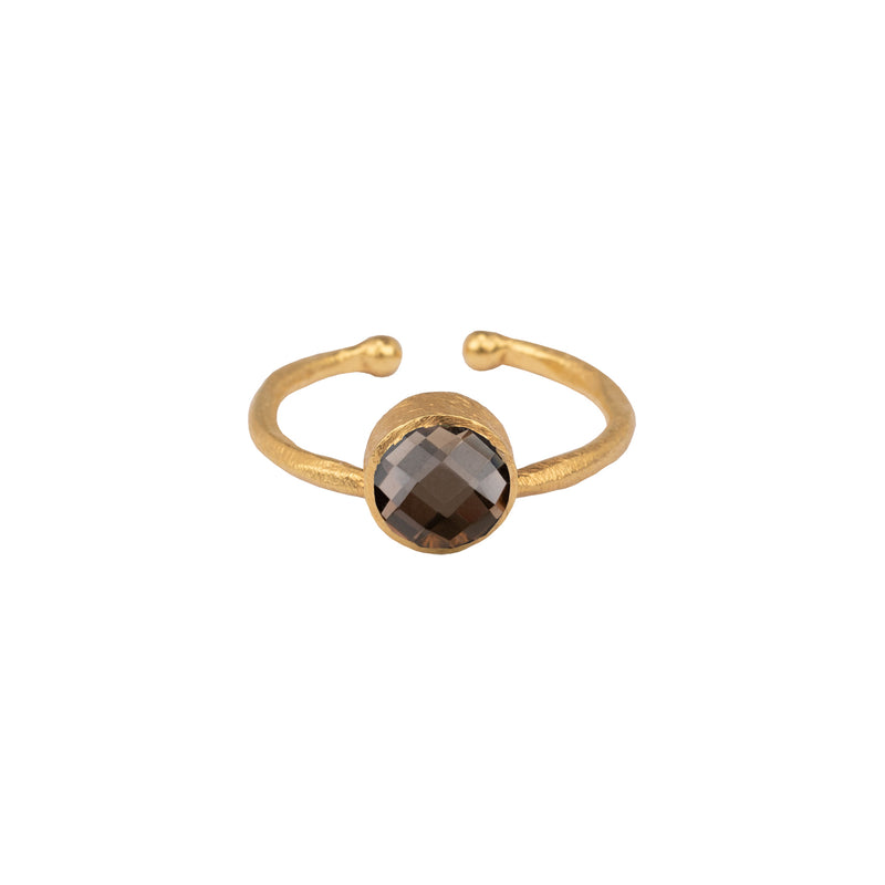 Small round ring - Multi Set Gold