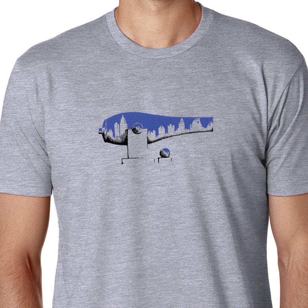 Blue Midtown War Paint T-Shirt