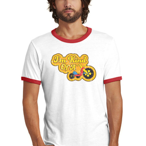 I'm Kind Of A Big Wheel - Retro Ringer T-shirt
