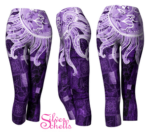 Purple Bohemian Goddess Capris