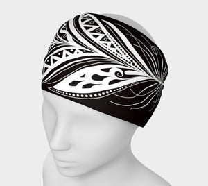 Black Bohemiam Free Spirit Yoga Headband