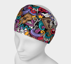 Colorful Jazz It Up Headband