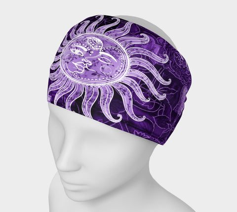 Purple Bohemian Goddess Headband