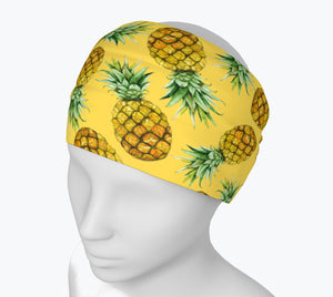 Pineapple Yellow Headband
